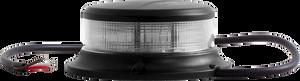 Bilde av Rundt lavprofil varsellys blankt glass